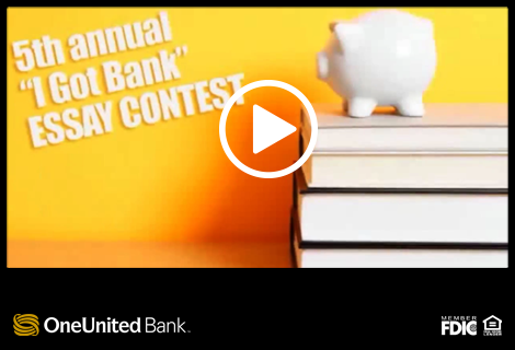 English Essay Com I Got Bank Essay Contest  Americas Largest Black Owned Bank  Oneunited  Bank Essays Topics For High School Students also Good Persuasive Essay Topics For High School I Got Bank Essay Contest  Americas Largest Black Owned Bank  High School Essay Example
