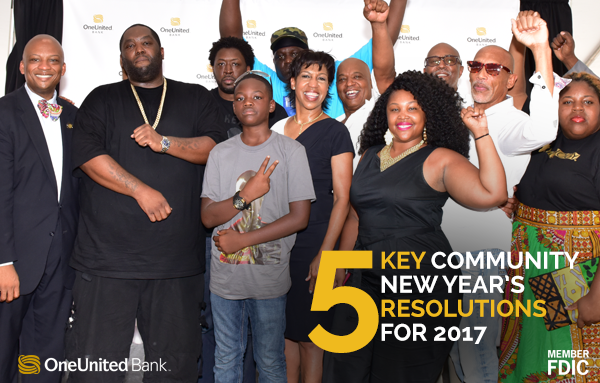 5 Key Community New Year's Resolutions for 2017