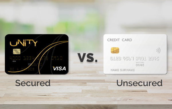 unsecured cards vs secured cards 5 things you need to know - Visa Secured Credit Card