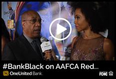 #BankBlack on AAFCA Red Carpet – Joe Morton