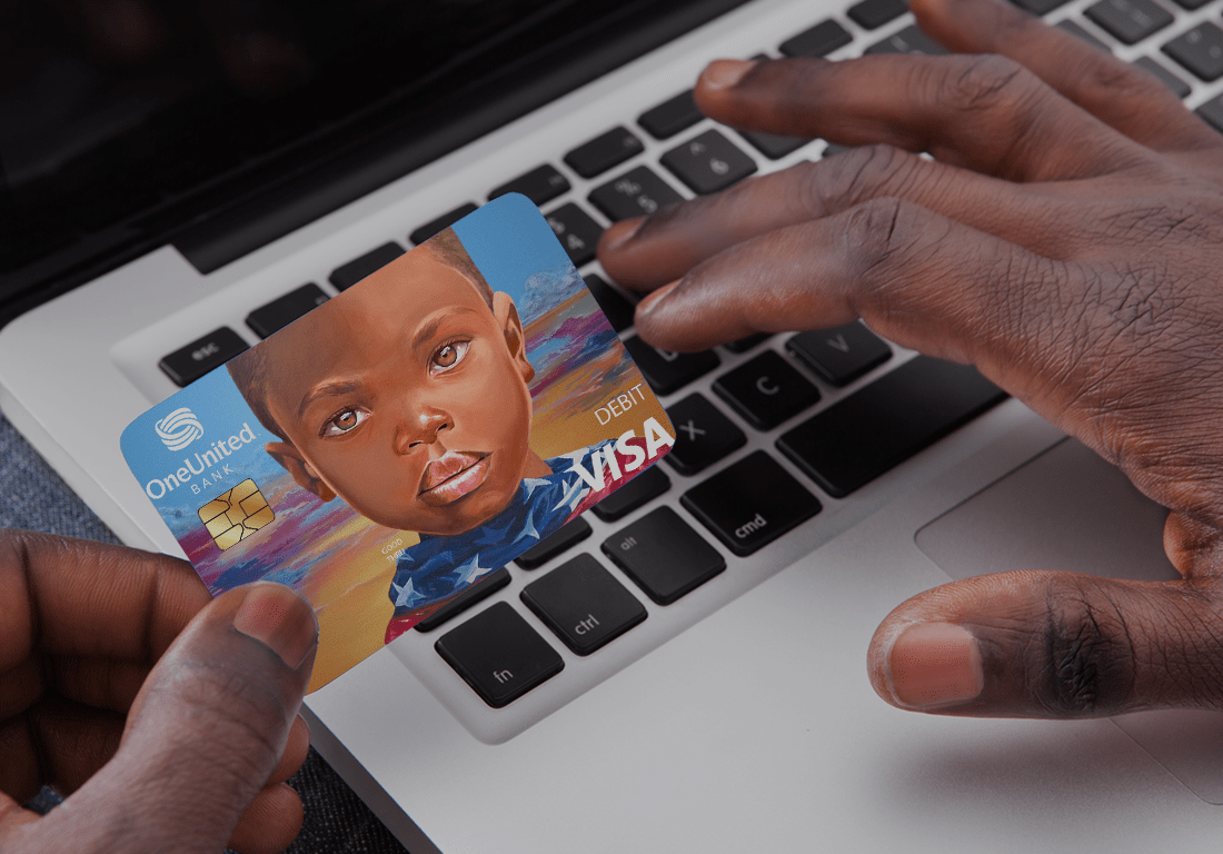 Make Black History | Doonie Debit Card | OneUnited Bank