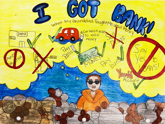 Stacy Gonzalez | Art Submission | 2017 I Got Bank Art & Essay Contest