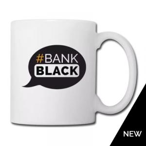 Bank Black Mug