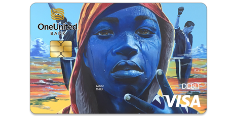 The Amir Visa Debit Card | OneUnited Bank