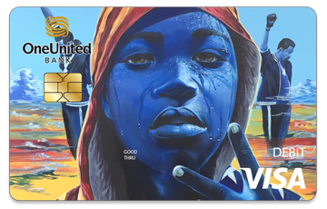 Get the Amir Card | #BankBlack Visa Debit | OneUnited Bank