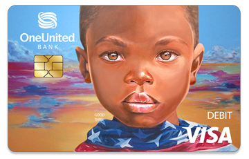 Get the Doonie Card | #BankBlack Visa Debit | OneUnited Bank
