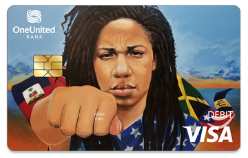 Get the Justice Card | #BankBlack Visa Debit | OneUnited Bank