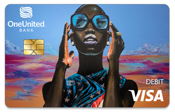 Get the Lady Liberty Card | #BankBlack Visa Debit | OneUnited Bank