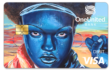 Get the Mona Card | #BankBlack Visa Debit | OneUnited Bank