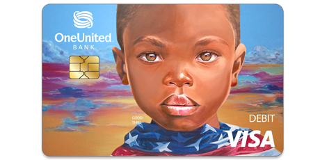 The Doonie Visa Debit Card | OneUnited Bank