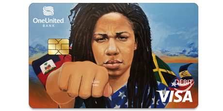 The Justice Visa Debit Card | OneUnited Bank
