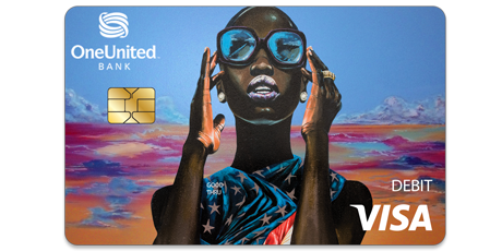 The Lady Liberty Visa Debit Card | OneUnited Bank