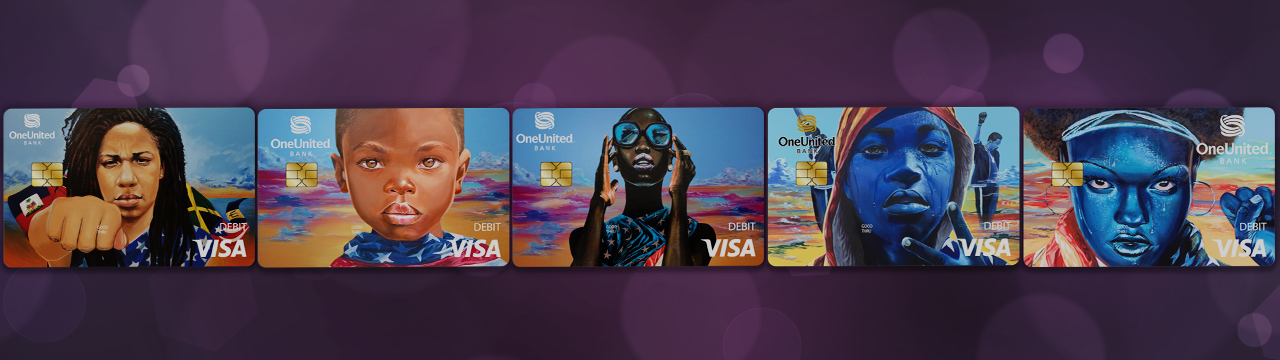 Get the Card with Pride | OneUnited Bank