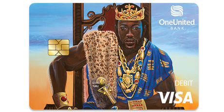 The King Visa Debit Card | OneUnited Bank