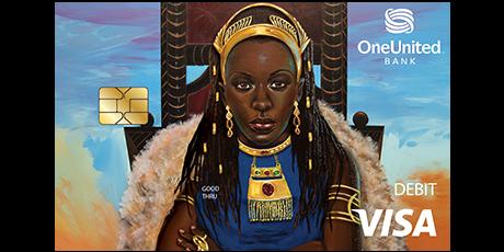Introducing The Queen Visa Debit Card | OneUnited Bank