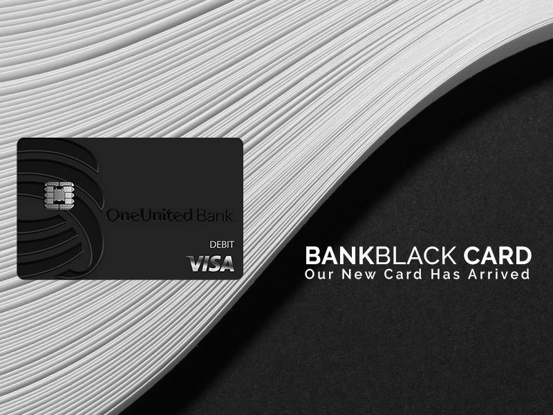 BankBlack Card | OneUnited Bank