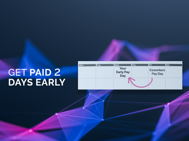 Get Paid 2 Days Early | OneUnited Bank