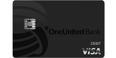 BankBlack Debit Card | OneUnited Bank