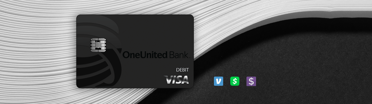 The BankBlack Tap To Pay Card | OneUnited Bank