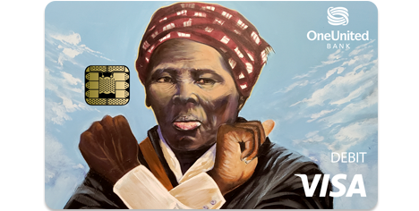 The Harriet Tubman Card | OneUnited Bank